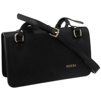 Taschen Damen Handtasche Badura 84100 Schwarz