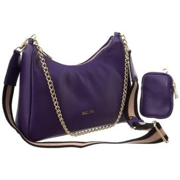 Taschen Damen Handtasche Badura 85140 Violett