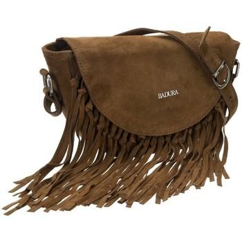 Taschen Damen Handtasche Badura TD185BRCD Braun