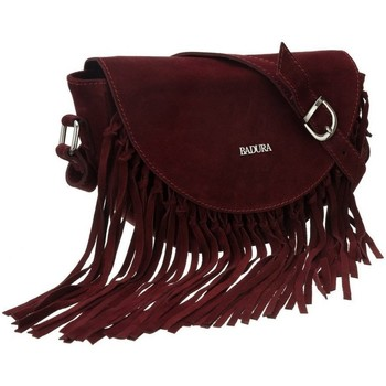 Taschen Damen Handtasche Badura TD185CRCD Dunkelrot
