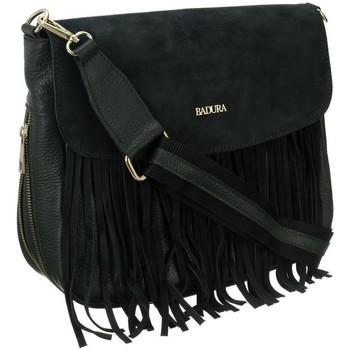 Taschen Damen Handtasche Badura TD184ZICD Schwarz