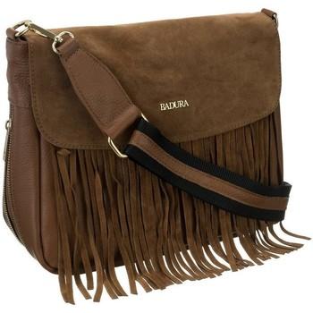 Taschen Damen Handtasche Badura TD184BRCD Braun