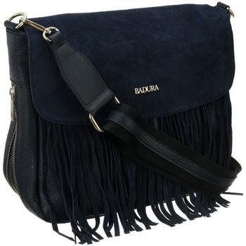 Taschen Damen Handtasche Badura TD184GNCD Dunkelblau