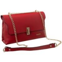 Taschen Damen Handtasche Badura 81690 Rot