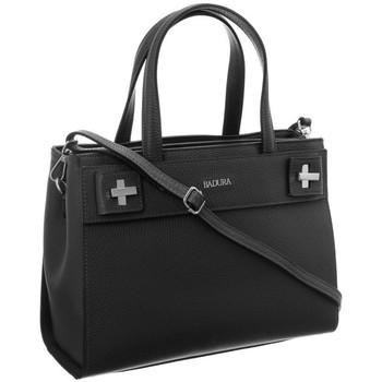 Taschen Damen Handtasche Badura 84390 Graphit