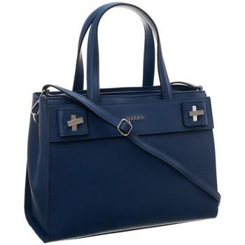Taschen Damen Handtasche Badura 84350 Dunkelblau