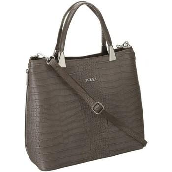 Taschen Damen Handtasche Badura TD183BECD Grau
