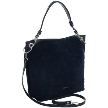 Taschen Damen Handtasche Badura 98690 Dunkelblau