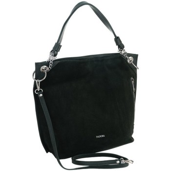 Taschen Damen Handtasche Badura 98710 Schwarz