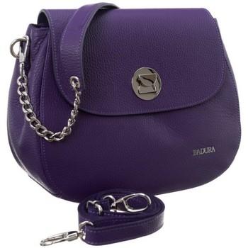 Taschen Damen Handtasche Badura 84820 Violett