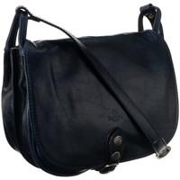 Taschen Damen Handtasche Badura TD182GNCD Dunkelblau