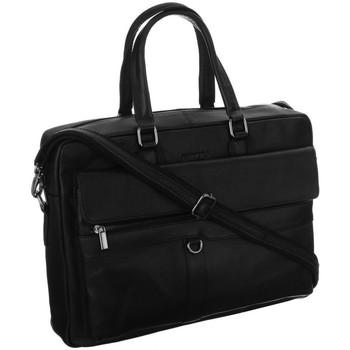 Taschen Herren Taschen Badura BLAP15605NDM Schwarz
