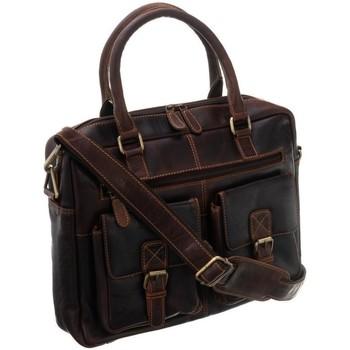 Taschen Herren Taschen Badura LAP5682BCOM Braun