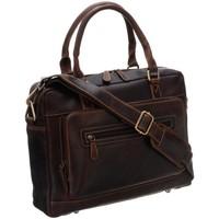 Taschen Herren Taschen Badura LAP2373BCOM Braun