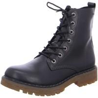 Schuhe Mädchen Stiefel Salamander Schnuerstiefel Electra-Tex 33-39006 01 schwarz