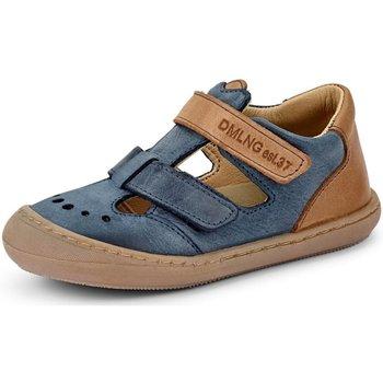 Schuhe Jungen Babyschuhe Däumling Sandalen Babyschuh 60138 blau