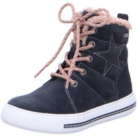 Schuhe Mädchen Stiefel Salamander Schnuerstiefel 33-55002-22 blau