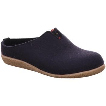 Schuhe Herren Hausschuhe Haflinger Blizzard Visby 718026 70 blau