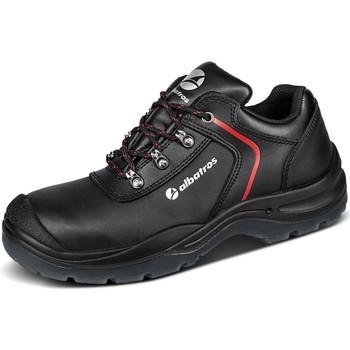 Schuhe Herren Sneaker Albatros Schnuerschuhe GRAVITATION LOW S3 SRC 641080 schwarz