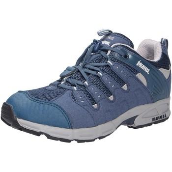 Schuhe Jungen Wanderschuhe Meindl Snap, Jungen Outdoorschuh blau