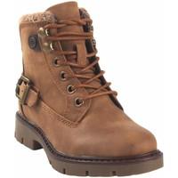 Schuhe Mädchen Boots Xti Mädchenstiefelette  57810 Leder Braun