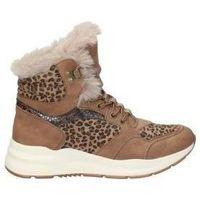 Schuhe Damen Low Boots Emmshu BOTINES  WESTER MODA JOVEN CUERO Beige
