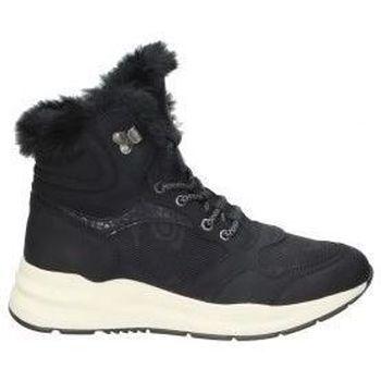 Schuhe Damen Low Boots Emmshu BOTINES  WESTER MODA JOVEN BLACK Noir