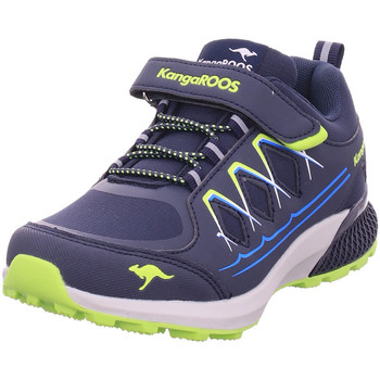 Schuhe Jungen Sneaker Kangaroos K-Sio EV dk navy/lime 4054
