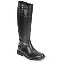 Schuhe Damen Klassische Stiefel Tosca Blu ALINE BOTTE Schwarz