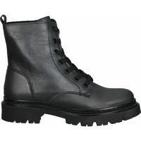 Schuhe Damen Boots Bullboxer Stiefelette Schwarz/Schwarz