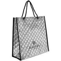 Taschen Damen Shopper / Einkaufstasche Badura 122470 Silber