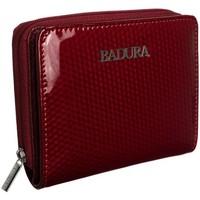 Taschen Damen Portemonnaie Badura 95870 Dunkelrot