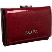 Taschen Damen Portemonnaie Badura 95600 Dunkelrot