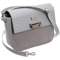 Taschen Damen Umhängetaschen Badura 65620 Grau