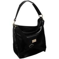 Taschen Damen Handtasche Badura 125270 Schwarz