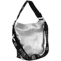 Taschen Damen Handtasche Badura 114620 Silber