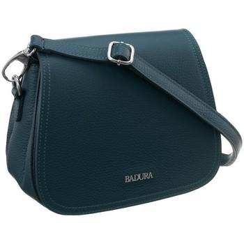 Taschen Damen Handtasche Badura 91980 Türkisfarbig