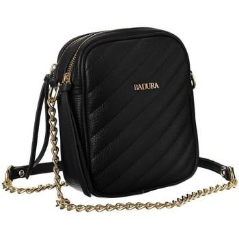 Taschen Damen Handtasche Badura 108430 Schwarz