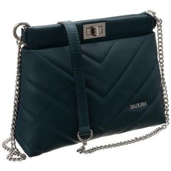 Taschen Damen Handtasche Badura 81650 Dunkelblau
