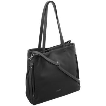 Taschen Damen Handtasche Badura 91610 Graphit
