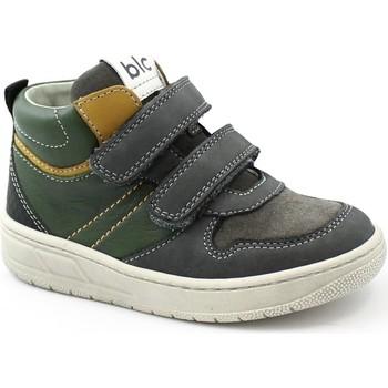 Schuhe Kinder Sneaker High Balocchi BAL-I21-612740-FU-b Grigio