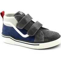 Schuhe Kinder Sneaker High Balocchi BAL-I21-613701-BL Grigio