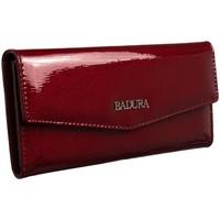 Taschen Damen Portemonnaie Badura 95570 Dunkelrot