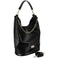 Taschen Damen Handtasche Badura 125290 Schwarz