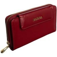 Taschen Damen Portemonnaie Badura 95740 Rot