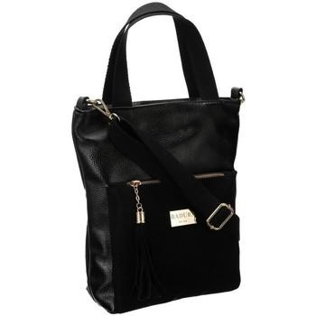 Taschen Damen Handtasche Badura 107830 Schwarz