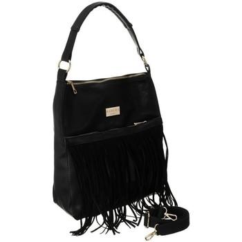 Taschen Damen Handtasche Badura 107850 Schwarz