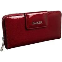 Taschen Damen Portemonnaie Badura 96000 Dunkelrot