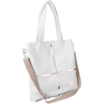 Taschen Damen Handtasche Badura TD176BIACD Weiß