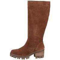 Schuhe Damen Boots Bullboxer 677504E7C Braun